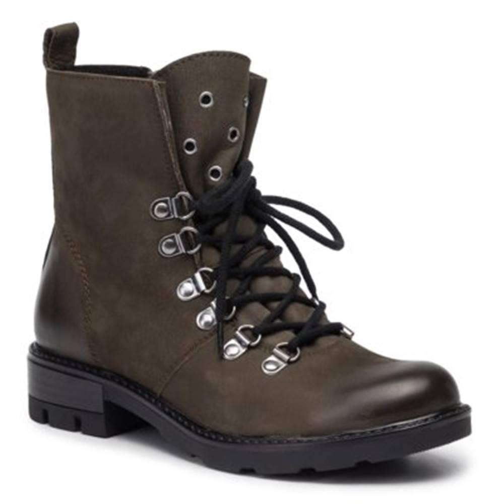 Lasocki Šnurovacia obuv Lasocki WI23-DEMETRA-13 nubuk,koža(useň) lícová