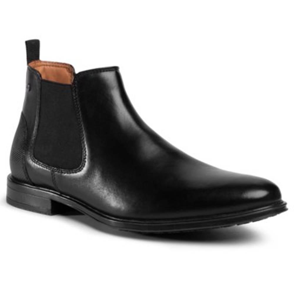 Lasocki for men Členkové topánky Lasocki for men MB-DYLAN-01 Prírodná koža(useň) - Lícova