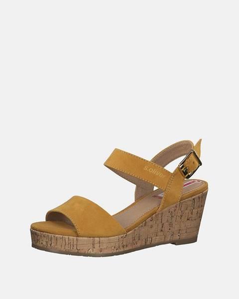 Žlté topánky S.Oliver