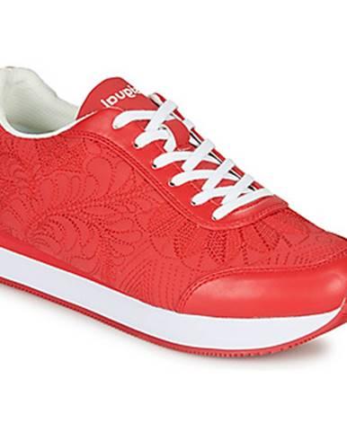 Červené tenisky Desigual