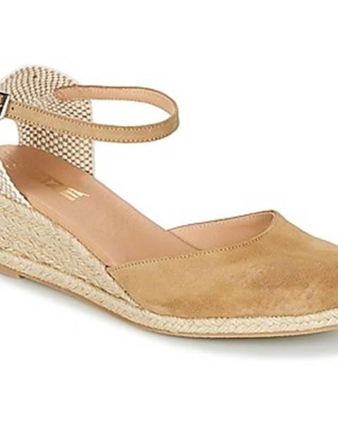 Béžové sandále So Size