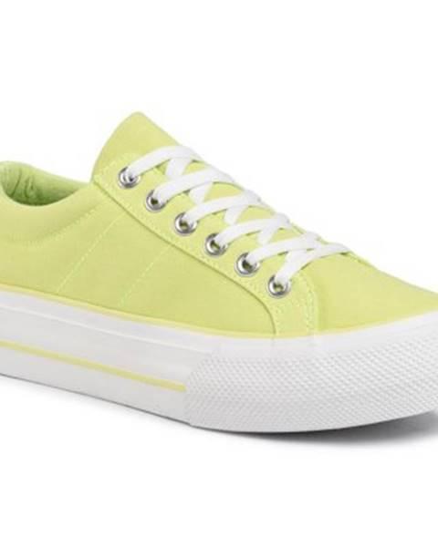 Žlté tenisky Jenny Fairy