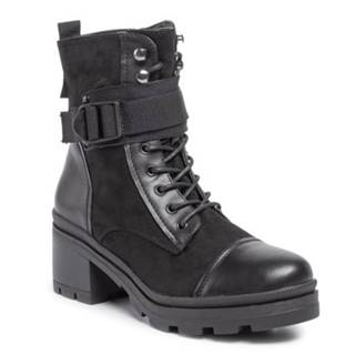 Šnurovacia obuv  WS2861-03 Materiał tekstylny,koža ekologická