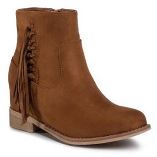 Členkové topánky DeeZee WS2991-07 Materiał tekstylny