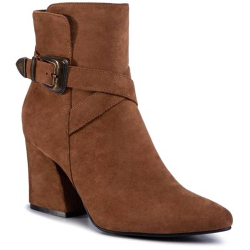 DeeZee Členkové topánky DeeZee LS5271-01 Materiał tekstylny