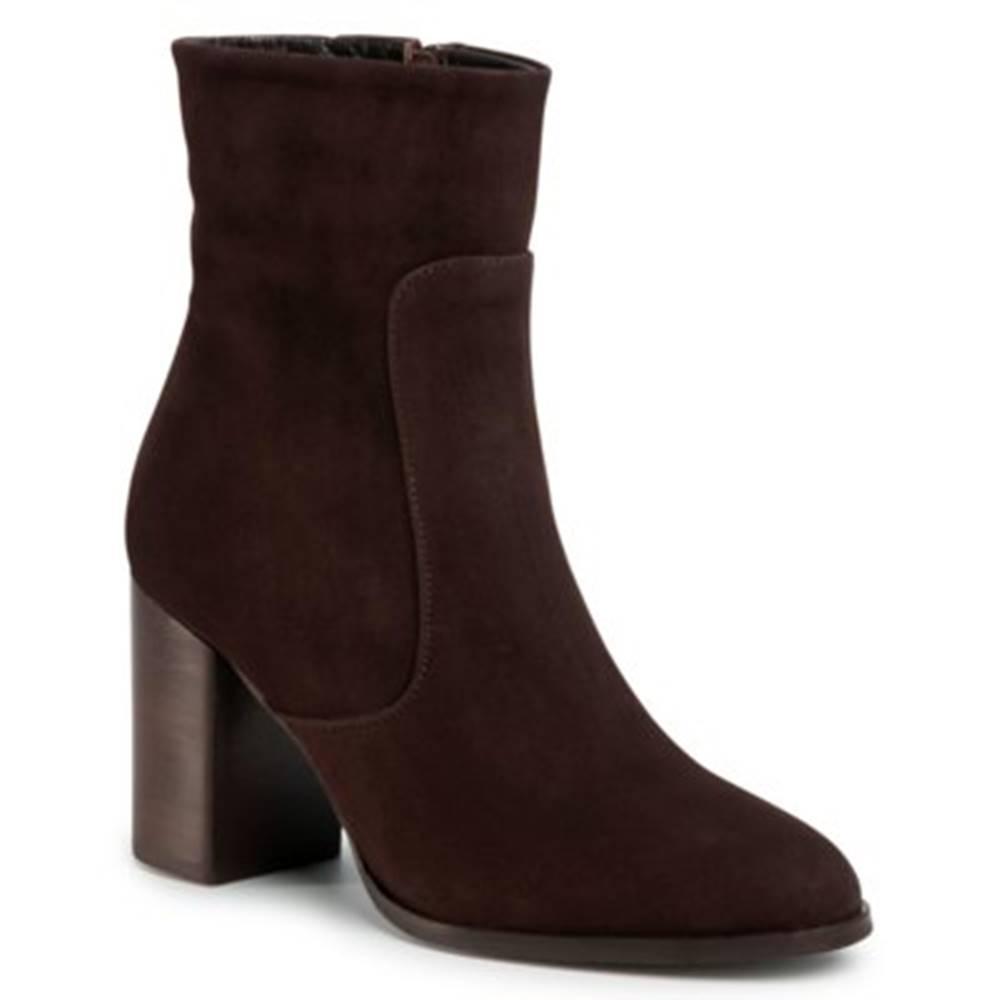 Gino Rossi Členkové topánky Gino Rossi 18401 koža(useň) zamšová