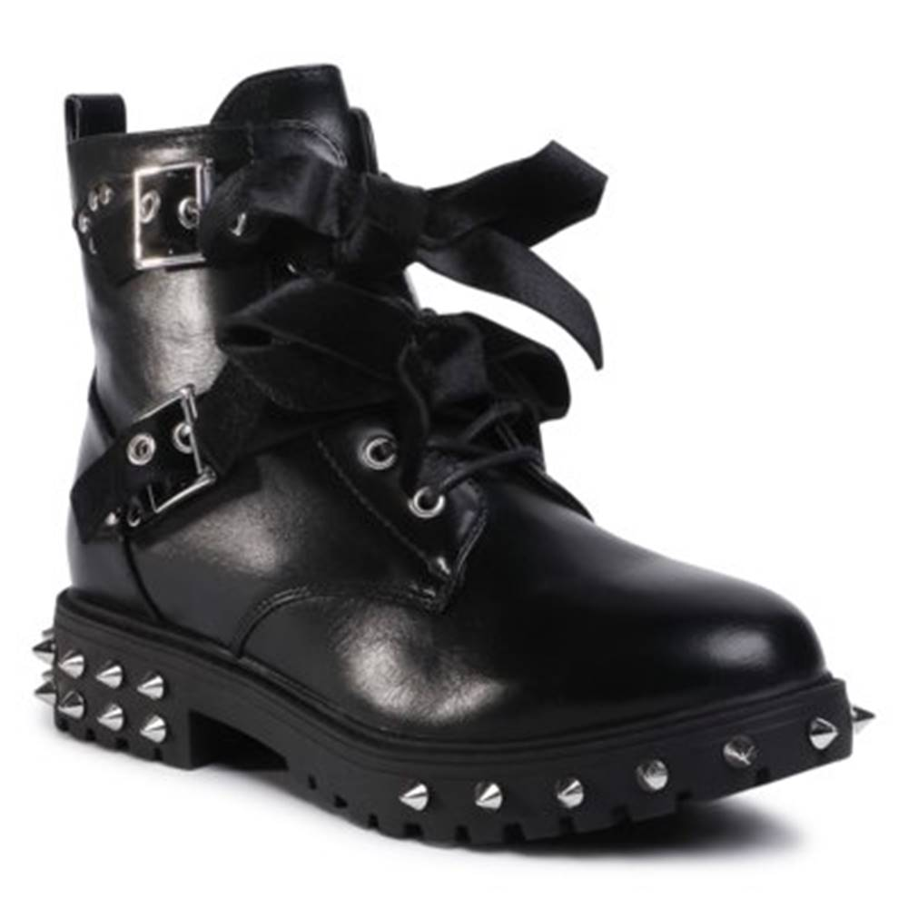 DeeZee Šnurovacia obuv DeeZee WS5017-10 Imitácia kože/-Imitácia kože