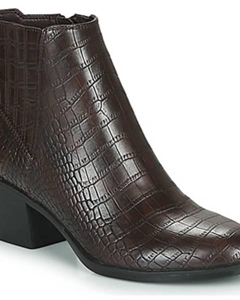 Hnedé topánky Esprit