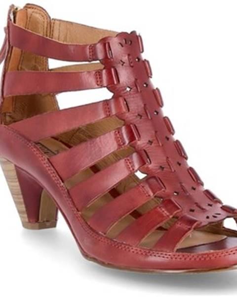 Viacfarebné sandále Pikolinos