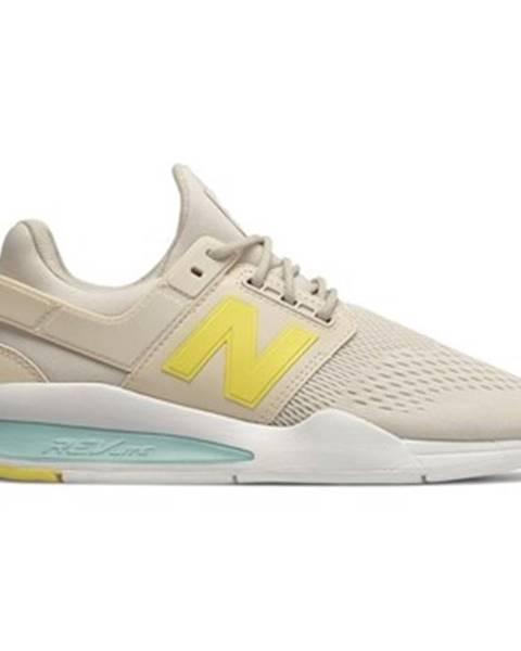 Béžové tenisky New Balance
