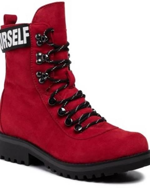 Červené topánky Jenny Fairy