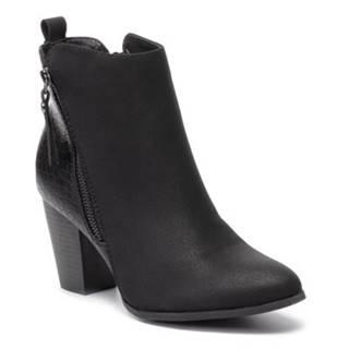 Členkové topánky Clara Barson WS18228-01 koža ekologická