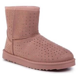 Členkové topánky DeeZee WSL19150-02 Materiał tekstylny