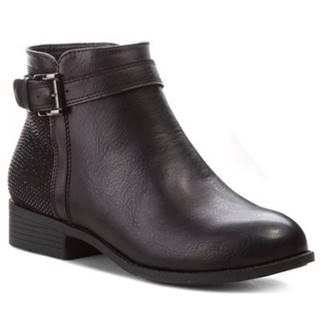 Členkové topánky Jenny Fairy WS1585-20 Materiał tekstylny,koža ekologická