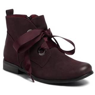Šnurovacia obuv Jenny Fairy WS18286-01 Ekologická koža/-Ekologická koža