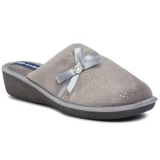 Papuče INBLU DCAHOO01 Materiał tekstylny,koža ekologická
